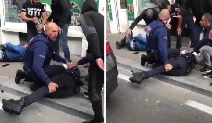 (VIDEO) Zawodnik MMA znokautował dwóch policjantów! Z ciężkimi obrażeniami trafili do szpitala!