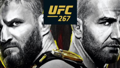 UFC 267 Błachowicz vs. Teixeira. Kiedy walka i o której godzinie?