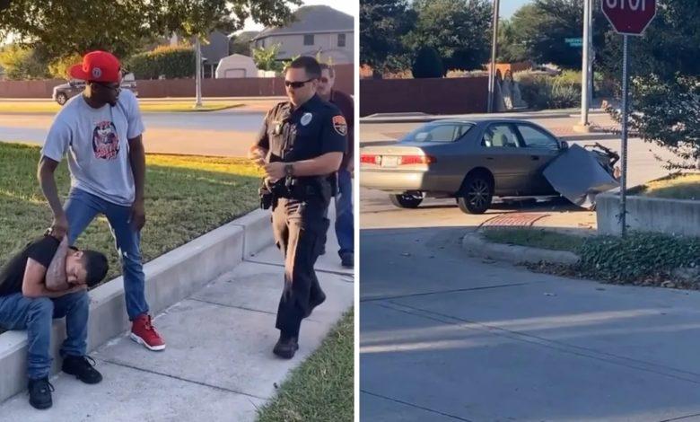 """(VIDEO) Kevin Holland pomógł okradzionemu mężczyźnie i ruszył w pościg za złodziejem! """"Wziąłem mój kubek z kawą i pobiegłem"""""""