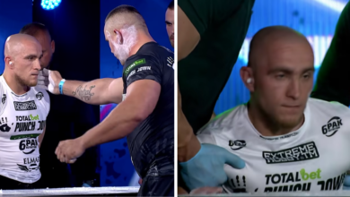 (VIDEO) Szalony pojedynek na liście! Zmierzył się rywalem cięższym o 40 kilogramów!