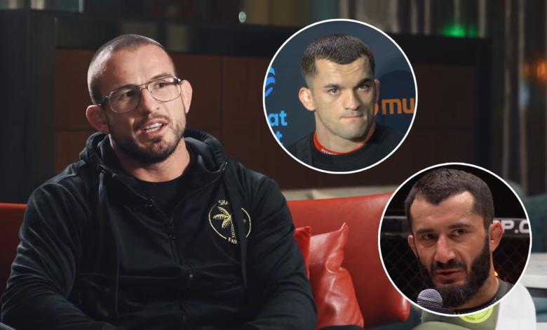 """Mańkowski typuje walkę Khalidova z Soldiciem: """"Mamed jest tak nieprzewidywalny, tak kotowaty, że..."""""""